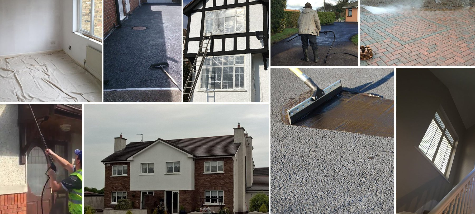 Power washing, sealing Kildare